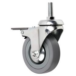 Conjunto 4 rodas com travão